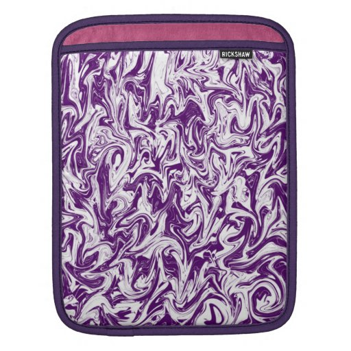 Marbleized Abstract Swirl Sleeve For iPads