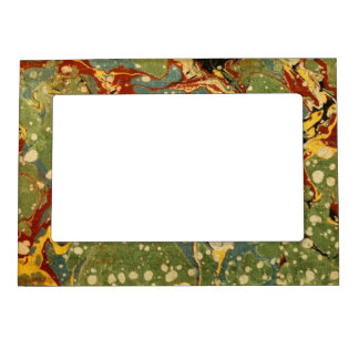 Marbleized Green Magnetic Photo Frame