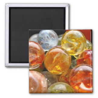 Marbles 2 Inch Square Magnet