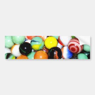 Marbles Bumper Sticker