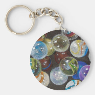 MARBLES GALORE KEYCHAIN