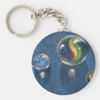 MARBLES IN COLOR PENCIL KEYCHAIN