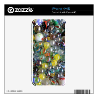 Marbles - iPhone 4/4S Skin Skin For iPhone 4