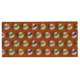 Marbles on floor boards wood USB flash drive