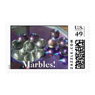 Marbles! Postage Stamps