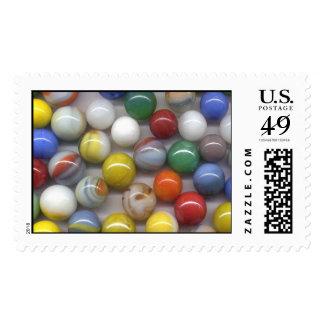 Marbles Postage Stamp