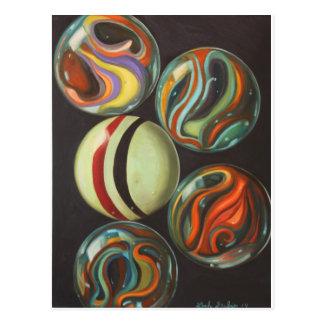 Marbles Postcard
