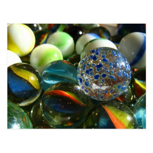 Marbles Post Cards