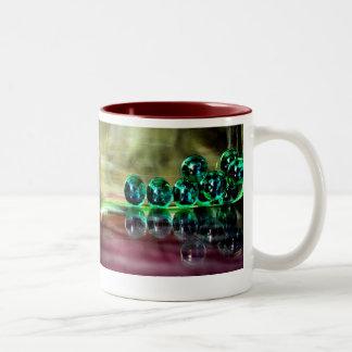 Marbles Two-Tone Coffee Mug