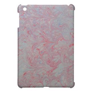 Marbling art red dream iPad Case
