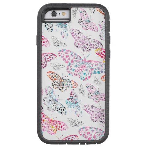 marbling butterflies designer iphone 6 case zazzle. Black Bedroom Furniture Sets. Home Design Ideas