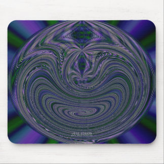 Marblized Complex Mouse Pad