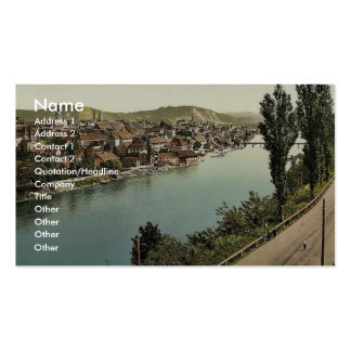 Marburg (i.e., Maribor), general view, Styria, Aus Double-Sided Standard Business Cards (Pack Of 100)