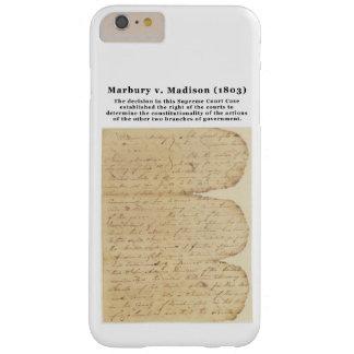 Marbury v. Madison, los 5 E.E.U.U. 137 (1803) Funda Barely There iPhone 6 Plus