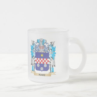 Marc Coat of Arms - Family Crest 10 Oz Frosted Glass Coffee Mug