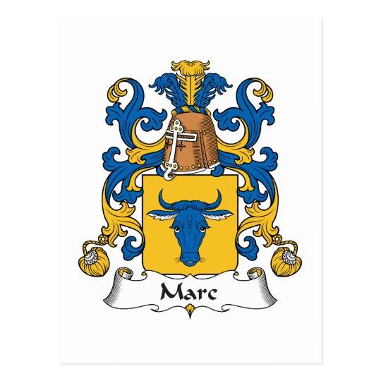 Marc Family Crest Postcard