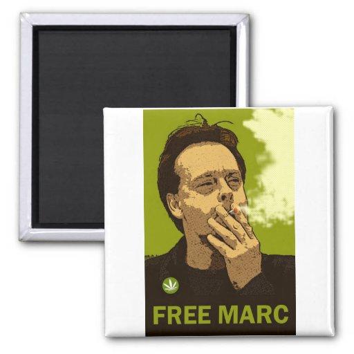 Marc libre imán cuadrado