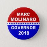 Marc Molinaro Governor New York 2018 Button