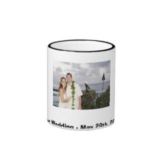 Marc & Nadia Ringer Coffee Mug