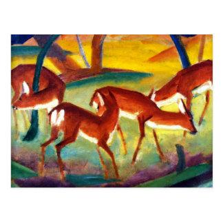 Marc - Red Deer I Postcard