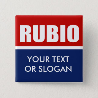 MARC RUBIO 2012 PINBACK BUTTON