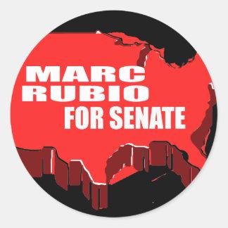 MARC RUBIO FOR SENATE CLASSIC ROUND STICKER