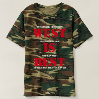 "Marc West ""West Is Best"" Camouflage T-Shirt"
