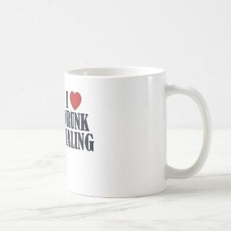 Marca borracha taza