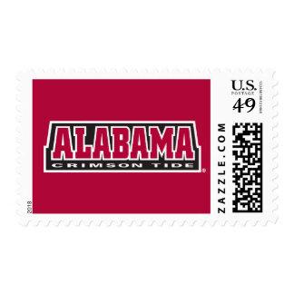 Marca carmesí de la marea de Alabama Sellos