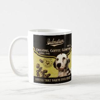 Marca dálmata - Organic Coffee Company Taza