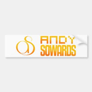 Marca de Andy Sowards Pegatina Para Auto