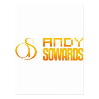 Marca de Andy Sowards Postales