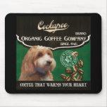 Marca de Cockapoo - Organic Coffee Company Tapete De Ratón