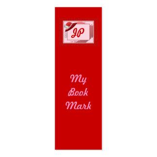 Marca de libro de Red Hat Tarjetas De Visita Mini