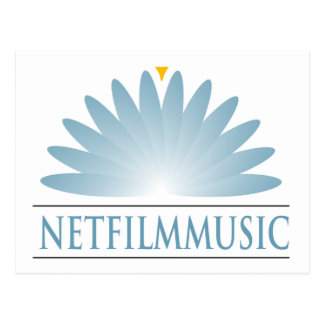 Marca de NETFilmMusic Tarjeta Postal