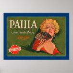 Marca de Paula de Santa Paula Póster