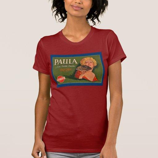 Marca de Paula de Santa Paula T Shirts