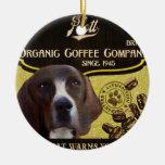 Marca de Plott - Organic Coffee Company Adornos De Navidad