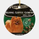 Marca de Pomeranian - Organic Coffee Company Adorno Para Reyes