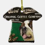 Marca de St Bernard - Organic Coffee Company Adornos De Navidad
