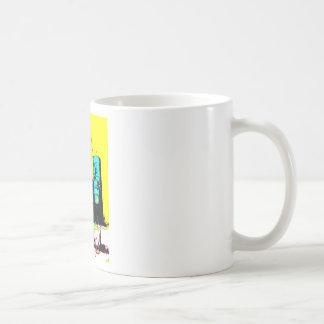 Marca de tierra de la tienda de S y de la alimenta Tazas De Café