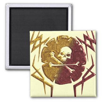 Marca de un pirata iman de frigorífico