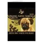 Marca del barro amasado - Organic Coffee Company Felicitaciones