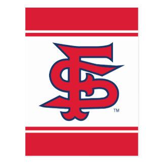 Marca del béisbol del estado de Fresno Postal