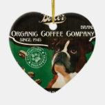 Marca del boxeador - Organic Coffee Company Ornamento De Reyes Magos