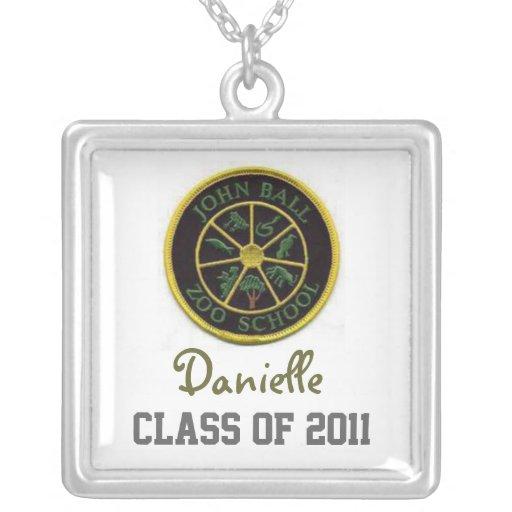Marca del logotipo collar personalizado