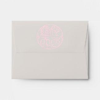 Marca del logotipo del kanji (caracteres sobres