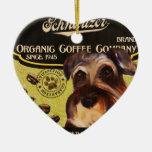 Marca del Schnauzer - Organic Coffee Company Ornamento Para Reyes Magos
