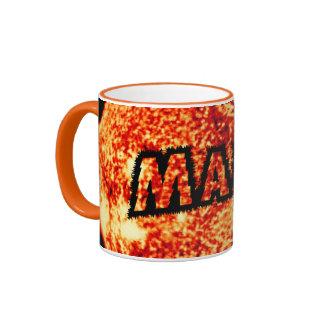 Marca - es un día soleado tazas de café