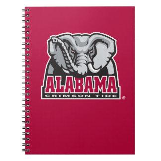 Marca grande del Al de Alabama Libretas